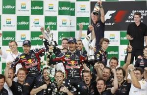 F1 2011年 ブラジルGP 決勝