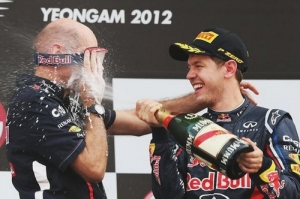 F1 2012年 韓国GP 決勝