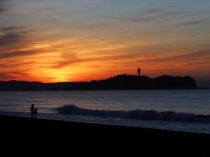 三が日の朝は海岸で-03