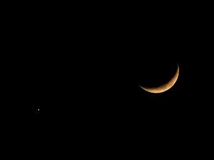 20170102 月と金星-1