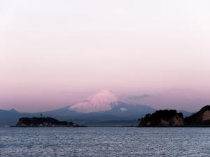早朝の富士山-01