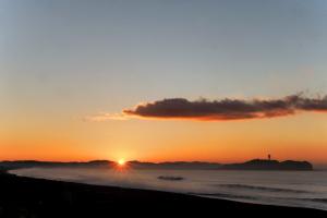 海岸で週末の朝陽を撮って見た-02
