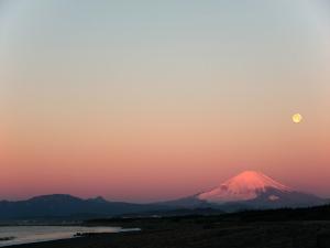 海岸で週末の朝陽を撮って見た-07