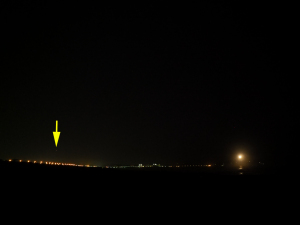 明るい金星を撮って見た-1